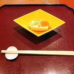 十月亭 - 先付け 胡麻豆腐