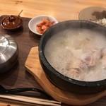 80430143 - 参鶏湯(鶏1/2)ランチ\1,100-