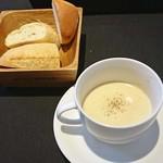ネオビストロアンドバー トリノ - ランチのスープ