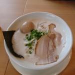麺縁 ジョウモン - 味玉豚しお
