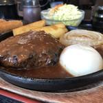 炭火焼肉やまがき - ハンバーグ