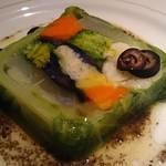レ ファーブル ボンジュール - 料理写真:本日の前菜 (藤沢野菜のテリーヌ)