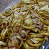 Takadayakisobaten - 料理写真:肉ポテト入り焼きそば