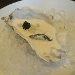東洋軒 - 30年2月 牡蠣のシャンパンソース キャビア添え