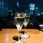 roof top bar & terrace G - スパークリングワイン 500円