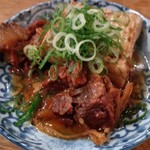 餃子の酒場マイケル - 肉豆腐¥380