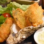 厚岸水産 かき小屋 - カキフライ(カキフライ定食)