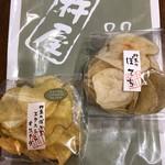 麻布十番 杵屋 - ポテトチップス