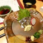 黒豚料理 寿庵 - きびなご刺身