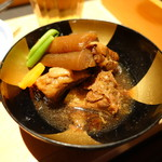 黒豚料理 寿庵 - 黒豚とんこつ煮
