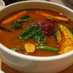 スパイスカフェ87 - トマト丸ごとのスープカレー