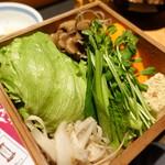 黒豚料理 寿庵 - お野菜