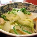 十月亭 - 野菜の寄せ鍋的なもの