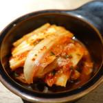 肉と八菜 OTOKICHI - 白菜キムチ