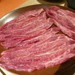 肉と八菜 OTOKICHI - ツラミ焼しゃぶ