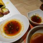 肉と八菜 OTOKICHI - 自家製ポン酢とか