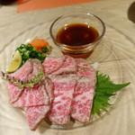 肉と八菜 OTOKICHI - 特選ローストビーフ