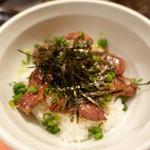 肉と八菜 OTOKICHI - 和牛ハラミご飯
