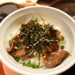 肉と八菜 OTOKICHI - タン飯