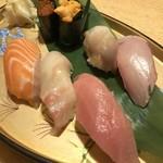 刺身居酒屋 なか善 - 職人の特上握り寿司(7貫)