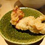 本町製麺所 天 - 鶏天とか