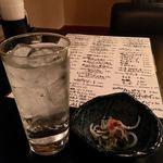食彩酒席 ビカヴォ - チューハイ(350円)