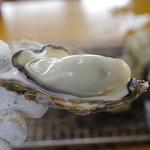 地御前かき小屋 - 料理写真:焼き牡蠣