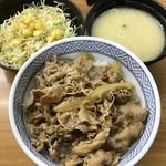 80446591 - 牛丼セット