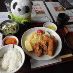 和楽井 - 料理写真:カクフライ定食