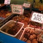 鮮魚食堂 かわしま - 店頭の生け簀