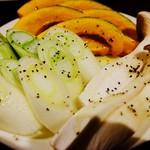 ホルモン家族 - 野菜盛り合わせ
