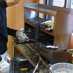 仲屋たいやき店 - その他写真:鋳物の焼き棒。