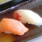 鮨よし - 料理写真:黒鯛、サーモン