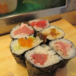 大和寿司 - 巻物3種