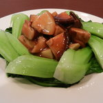 日昌園 - 椎茸の青菜炒め