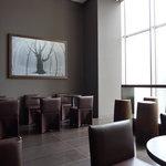エルメス カフェ - 大きな写真がポイントに~!