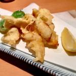 魚がし鮨 - カレイの天ぷら