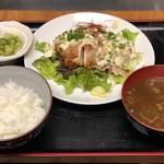 担ぎ屋 - チキン南蛮定食