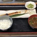 担ぎ屋 - ハラス焼き定食