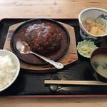 揚げたて天ぷら はまだ - 料理写真:特製ハンバーグご膳=980円
