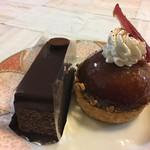 80455518 - ・チョコレートケーキ+タルトタタン