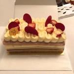 ピエール・エルメ・パリ - ミルフィユのホールケーキ