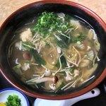 さか井食堂 - 野菜あんかけうどん ¥730