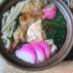 さか井食堂 - 鍋焼うどん  ¥830
