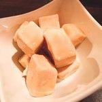 居酒屋 NIJYU-MARU - クリームチーズ味噌醤油漬け
