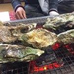 力 - 焼き牡蠣