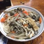 力 - 牡蠣の炊き込みご飯