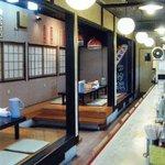ラーメン 將陽 - カウンターのほかお座敷もございます。
