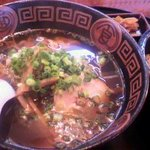 らーめん 蔵打麺 - 平打麺の醤油味ラーメン