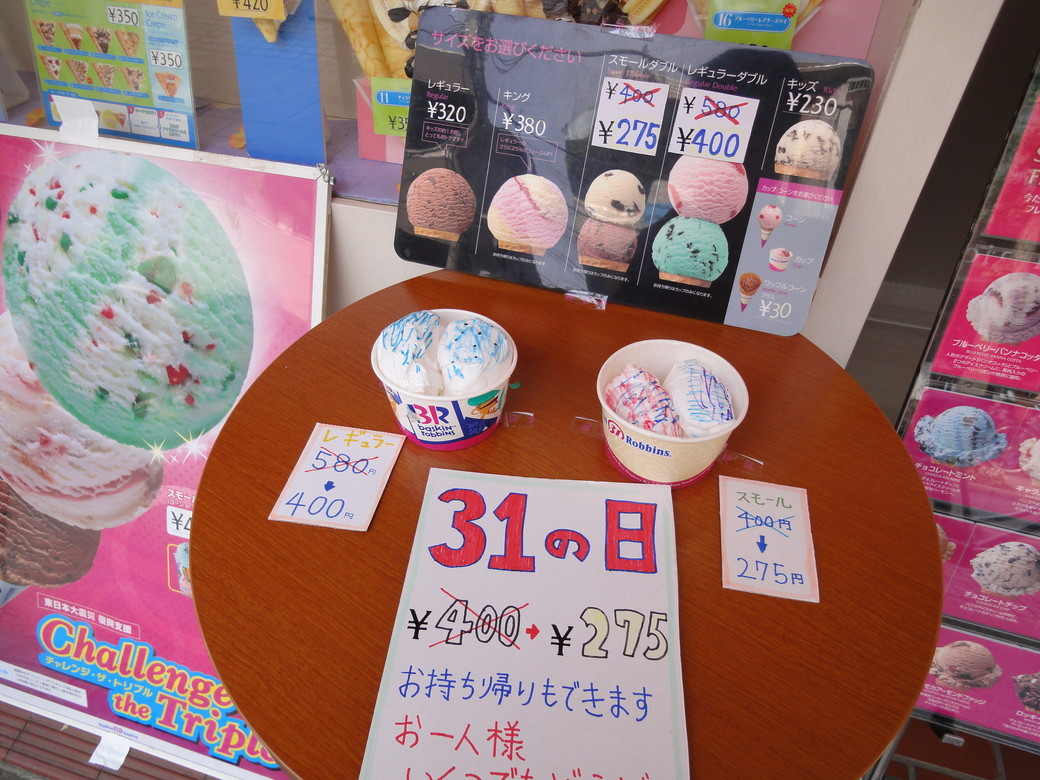 サーティワンアイスクリーム 尾山台店